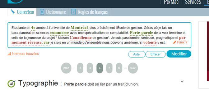 Site De Correction