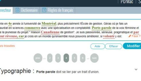 Site De Correction